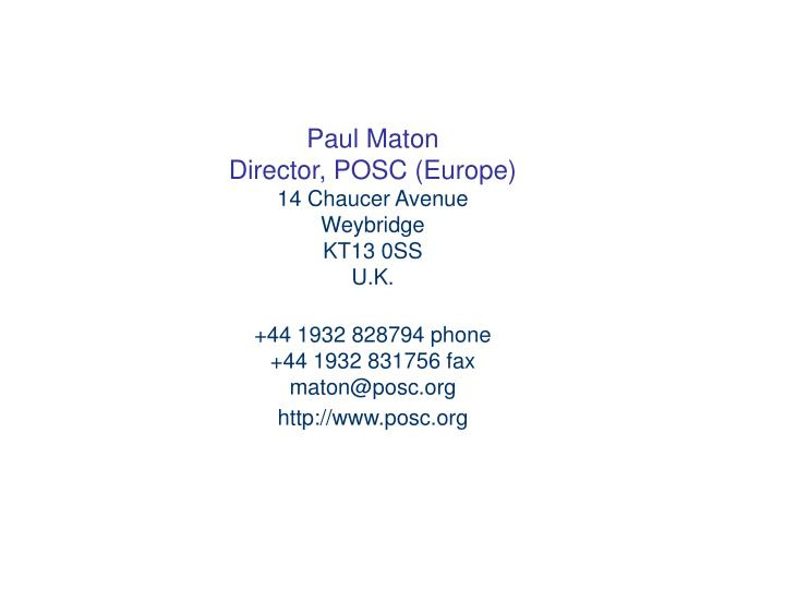 Paul Maton