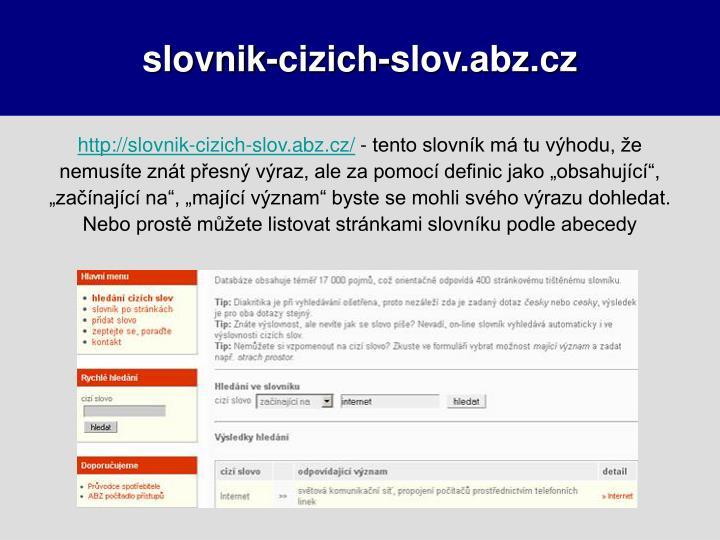 slovnik-cizich-slov.abz.cz
