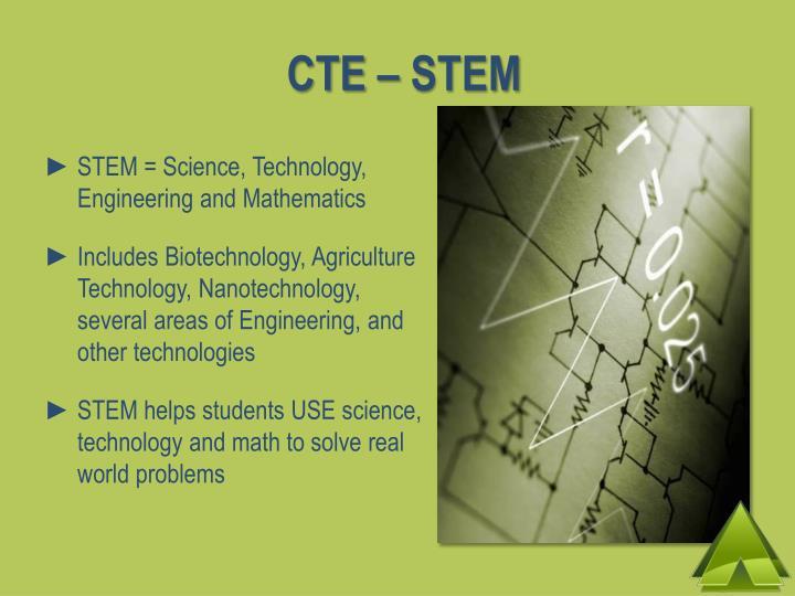 CTE – STEM