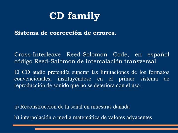 CD family