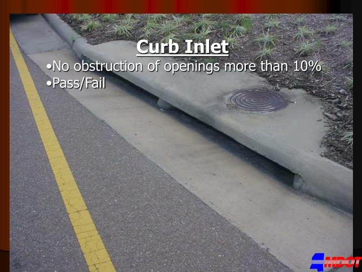 Curb Inlet