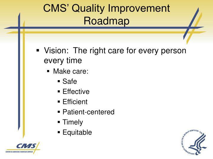 CMS' Quality Improvement