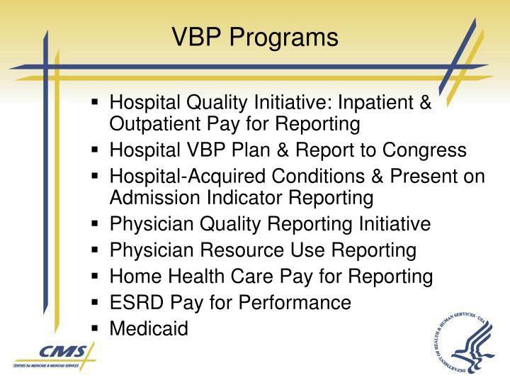 VBP Programs