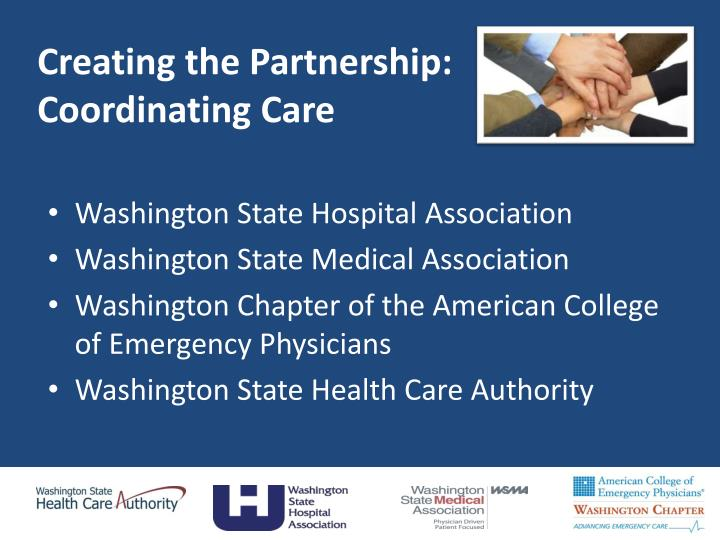 Creating the Partnership: