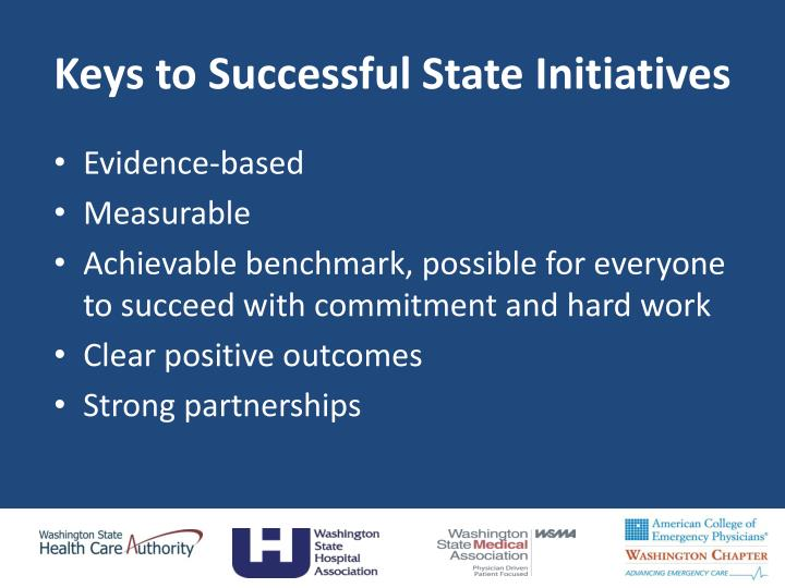 Keys to Successful State Initiatives