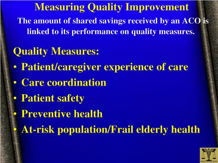 Measuring Quality Improvement
