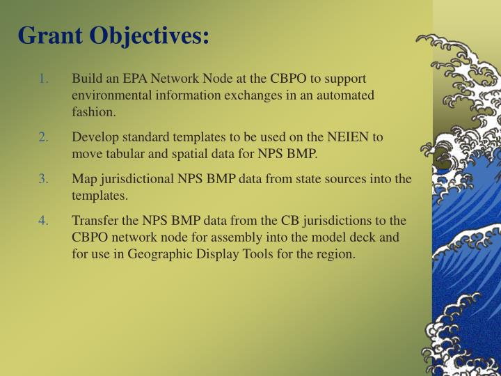 Grant Objectives: