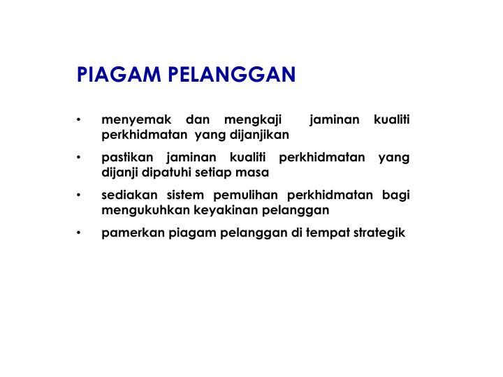 PIAGAM PELANGGAN
