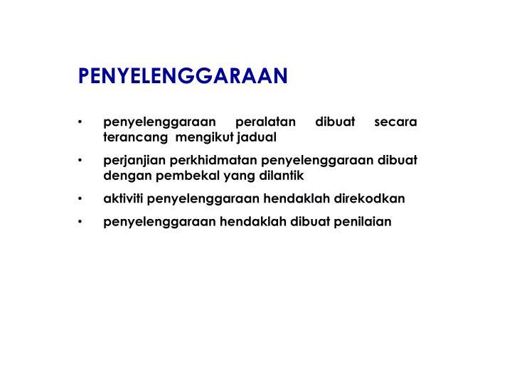 PENYELENGGARAAN