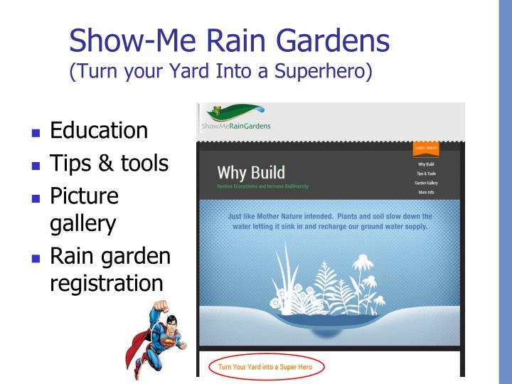 Show-Me Rain Gardens
