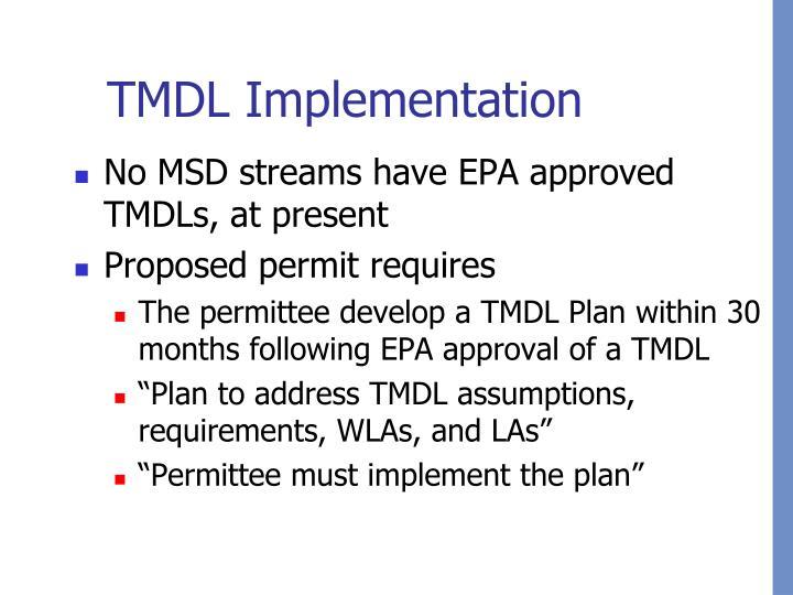 TMDL Implementation