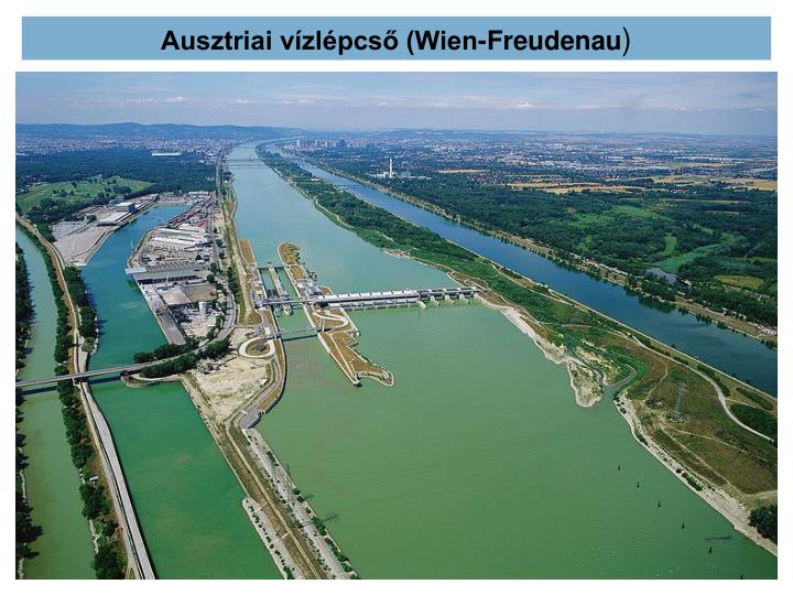 Ausztriai vízlépcső (Wien-Freudenau