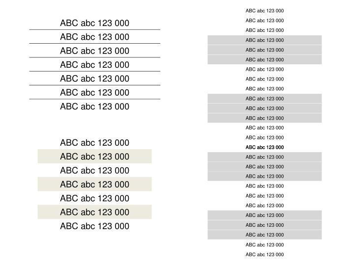 ABC abc 123 000