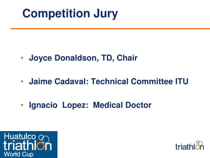 Competition Jury
