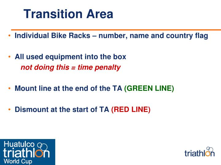 Transition Area