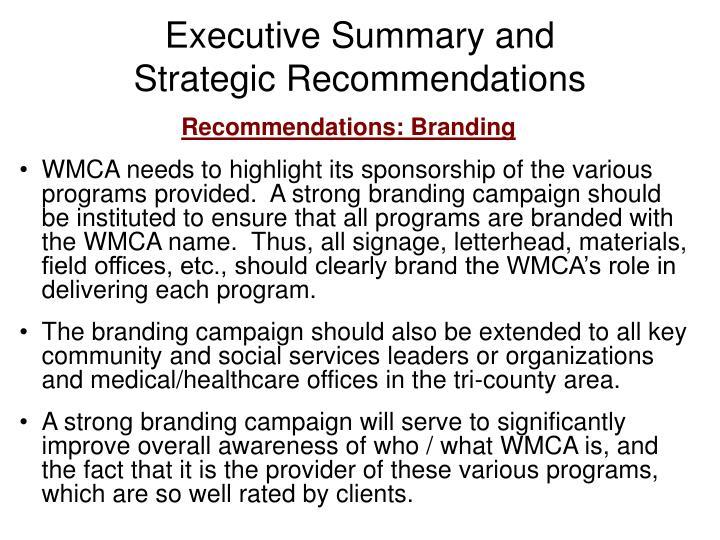 Executive Summary and