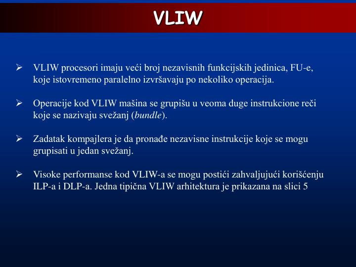 VLIW
