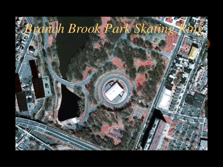 Branch Brook Park Skating Ring