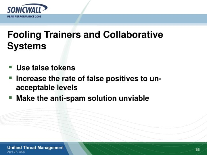 Fooling Trainers and Collaborative Systems