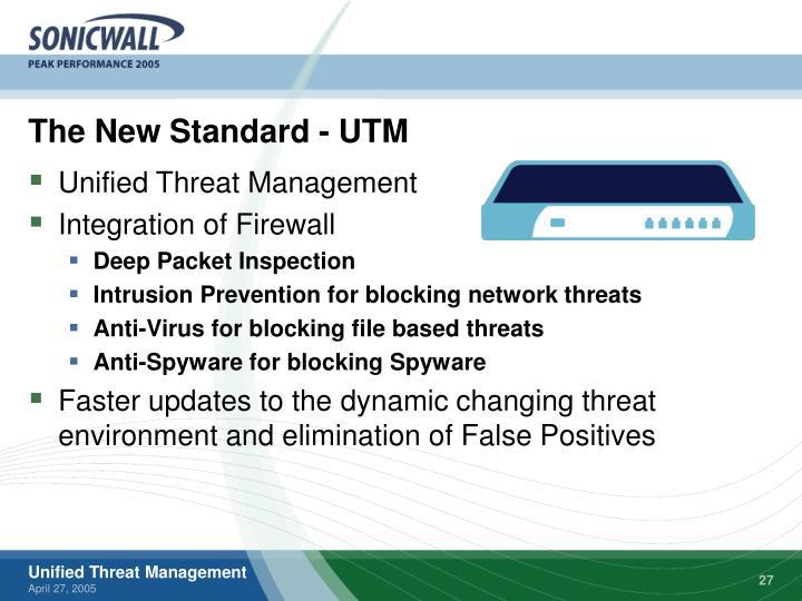 The New Standard - UTM