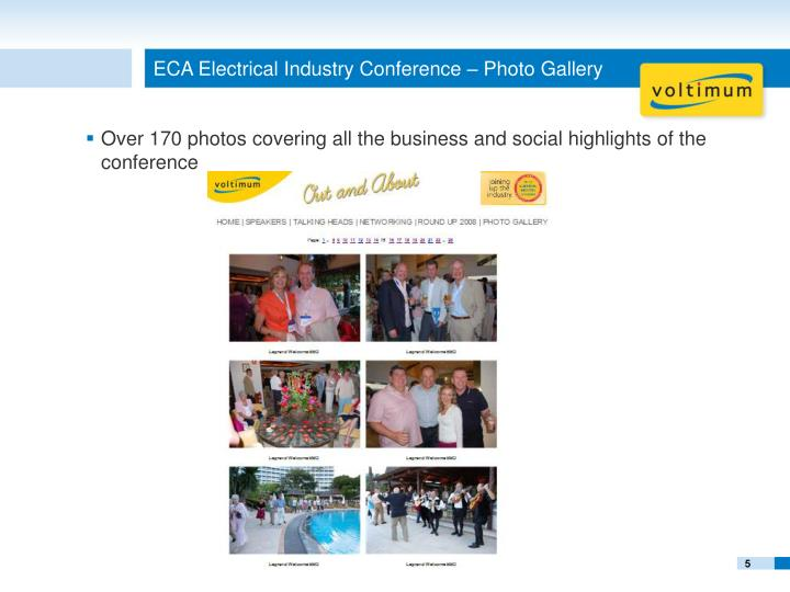 ECA Electrical Industry Conference – Photo Gallery