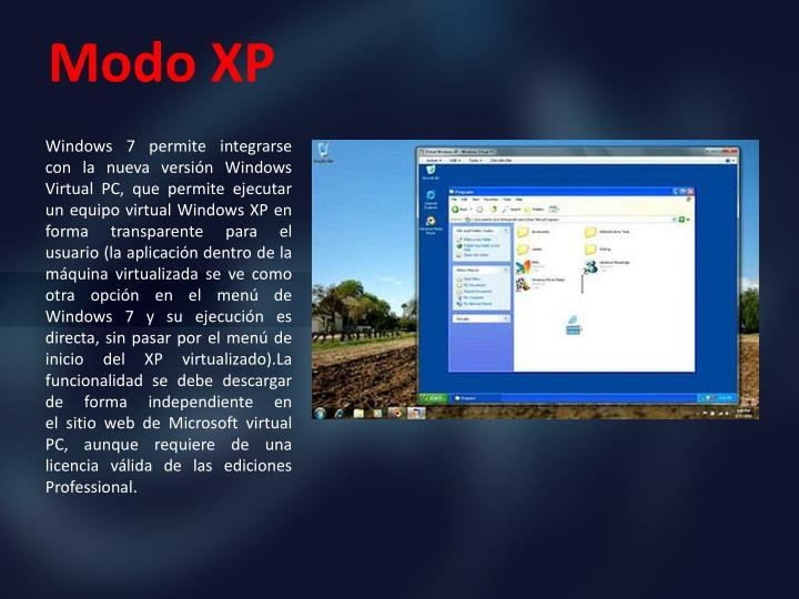 Modo XP