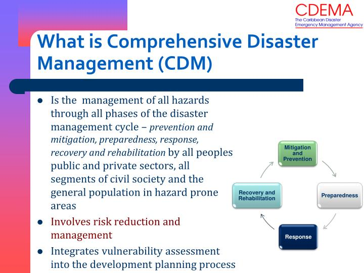 What is Comprehensive Disaster Management (CDM)