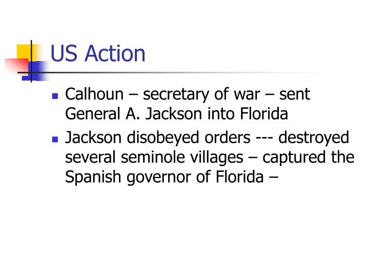 US Action