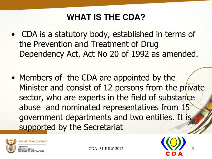 What is the cda