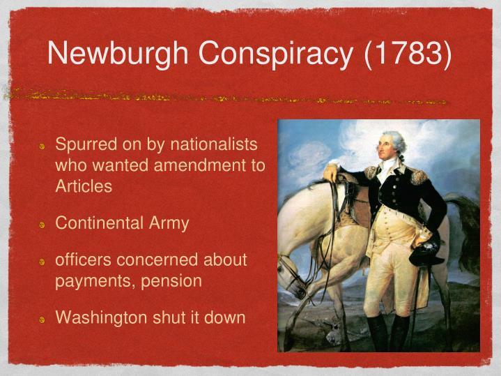 Newburgh Conspiracy (1783)
