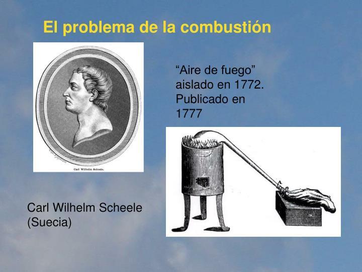 El problema de la combusti