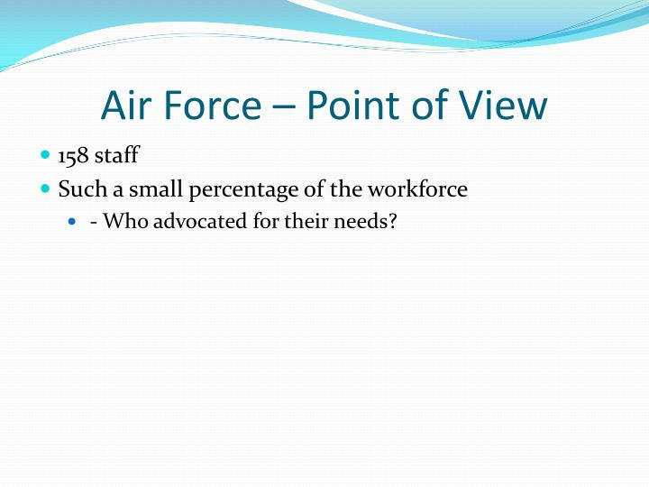 Air Force – Point of View