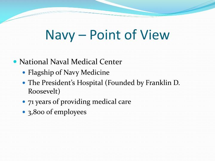 Navy – Point of View