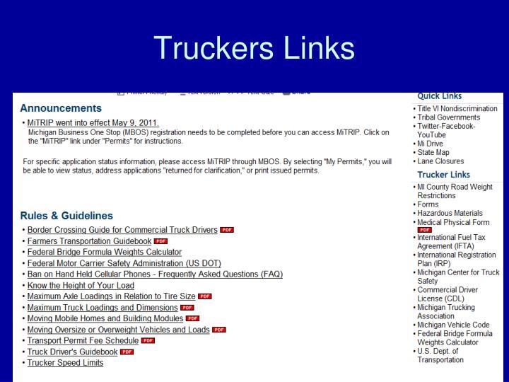 Truckers Links