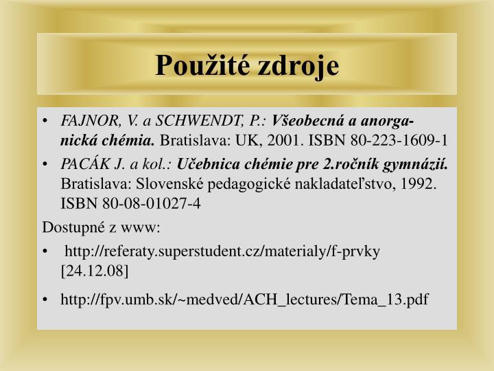 FAJNOR, V. a SCHWENDT, P.: