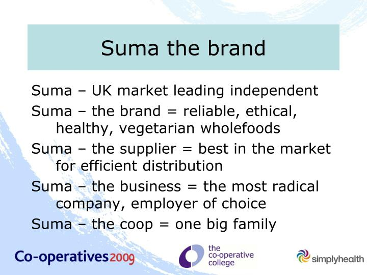 Suma the brand