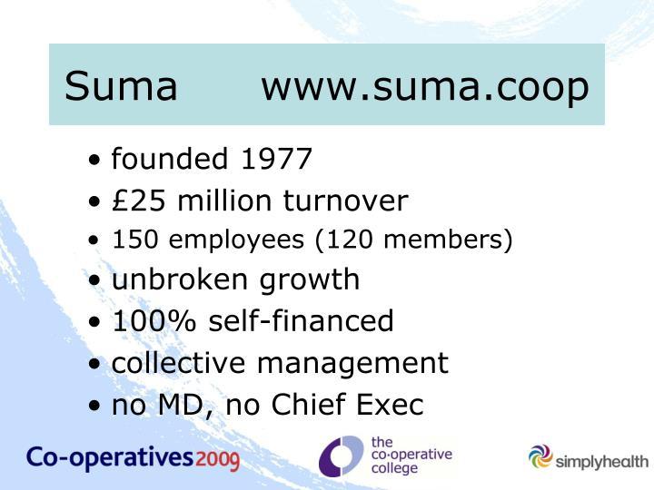 Sumawww.suma.coop