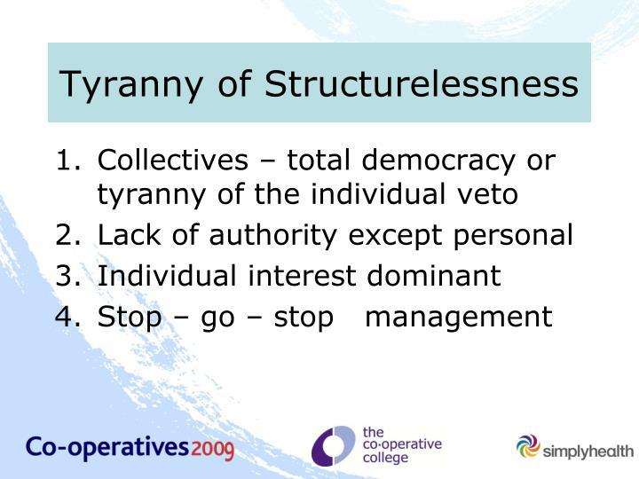 Tyranny of Structurelessness