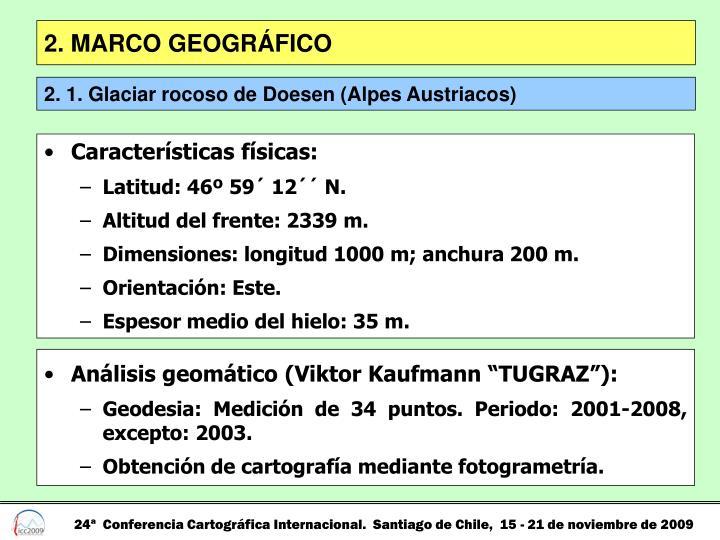 2. MARCO GEOGRÁFICO