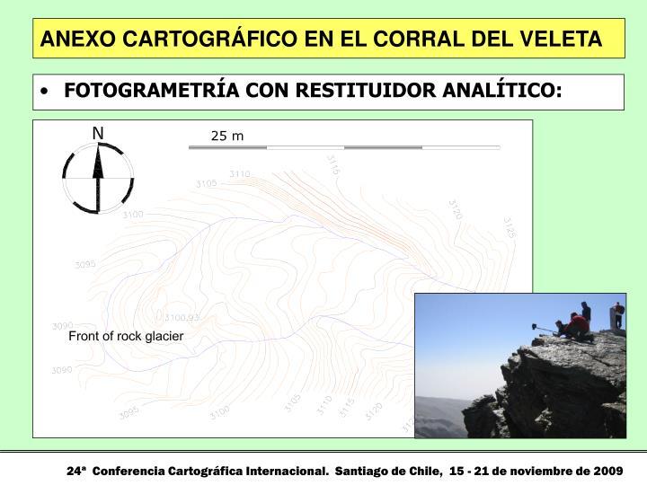ANEXO CARTOGRÁFICO EN EL CORRAL DEL VELETA