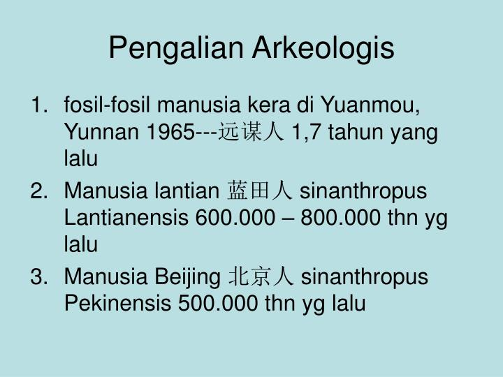 Pengalian Arkeologis