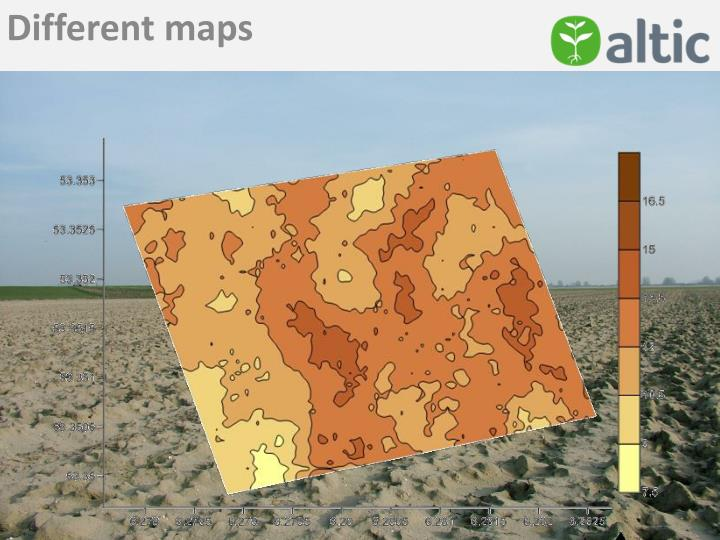 Different maps