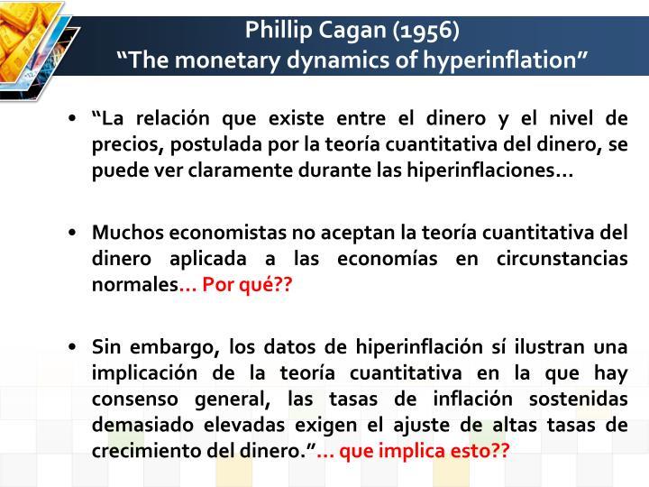 Phillip Cagan (1956)
