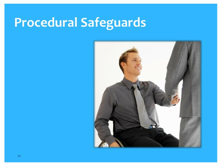 Procedural Safeguards