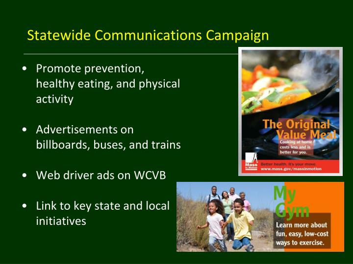 Statewide Communications Campaign