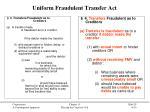 uniform fraudulent transfer act1