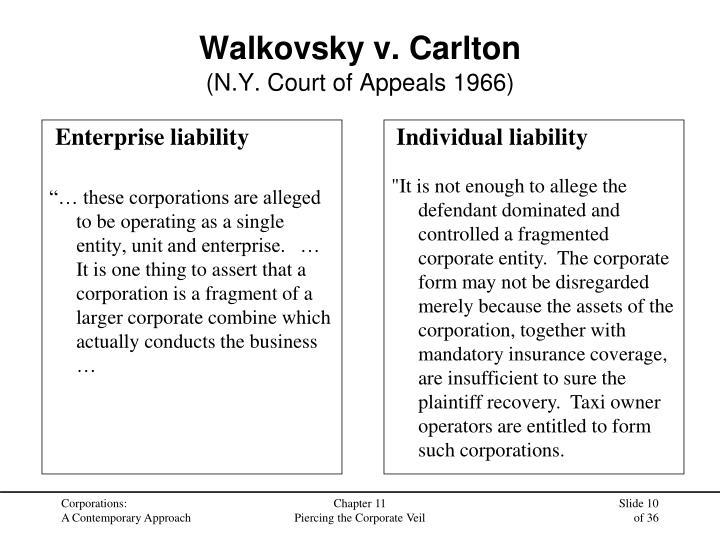 Enterprise liability