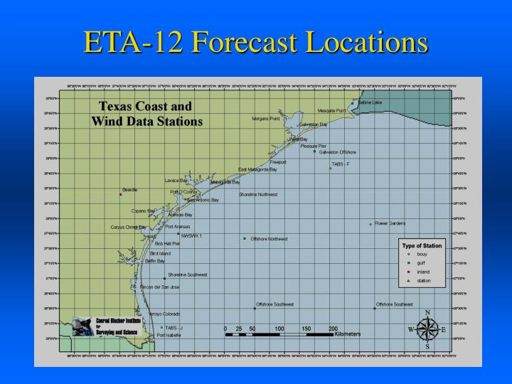 ETA-12 Forecast Locations
