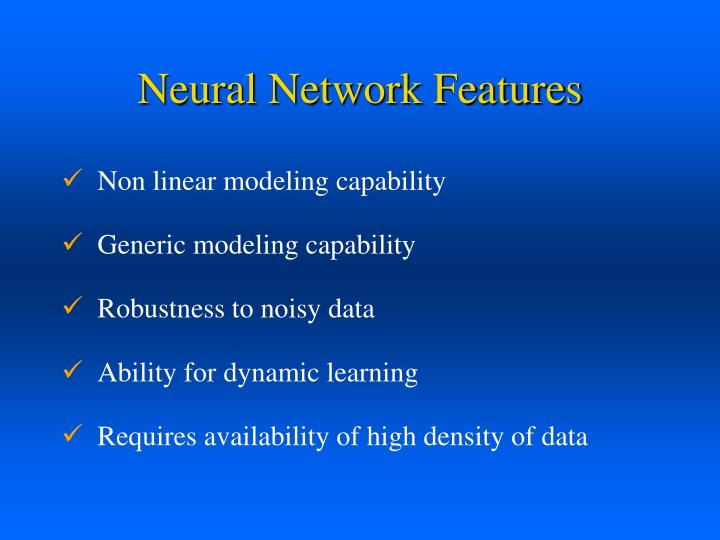 Neural Network Features