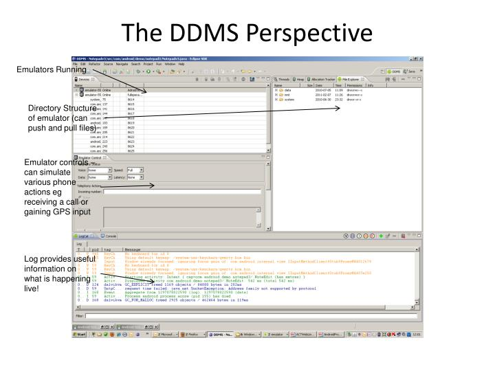 The DDMS Perspective